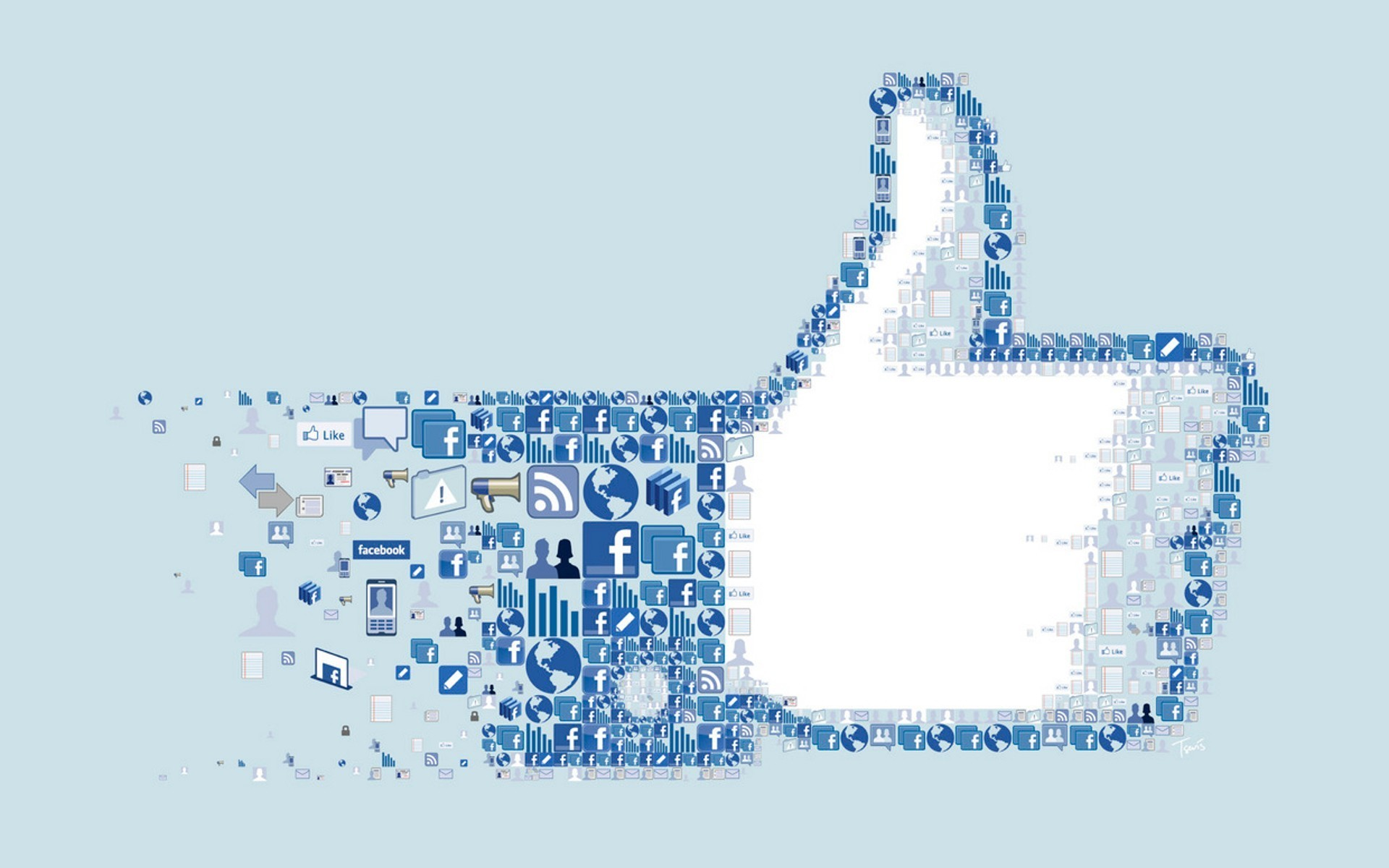 Facebook-Icons-Collage-Logo-Social-network-I-like-you