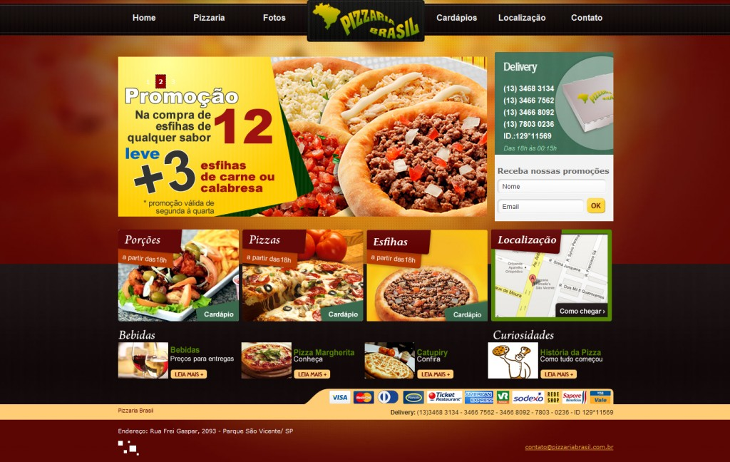 site_pizzaria_brasil